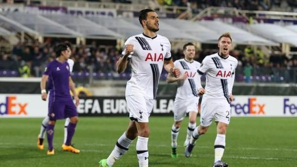 Nacer Chadli scored Tottenham's goal in Italy as Pochettino fielded a weaker team | Photo: Eurosport
