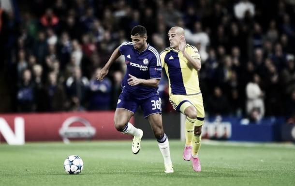 Loftus-Cheek disputando un partido de Champions/ Foto: Chelsea