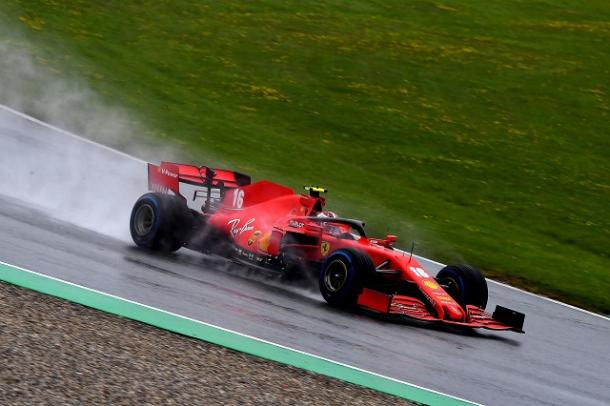 Charles Leclerc en acción. Fuente: F1