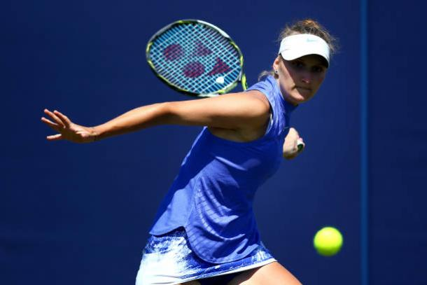 Marketa Vondrousova's wildcard comes after a breakthrough seven months (Getty/Charlie Crowhurst)