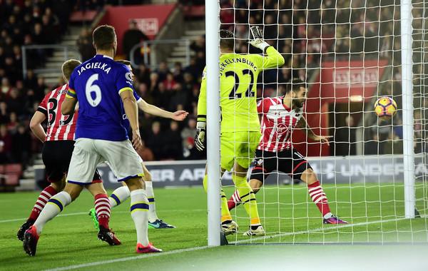 Austin gives Southampton the perfect start. Photo: Getty (Alex Broadway).