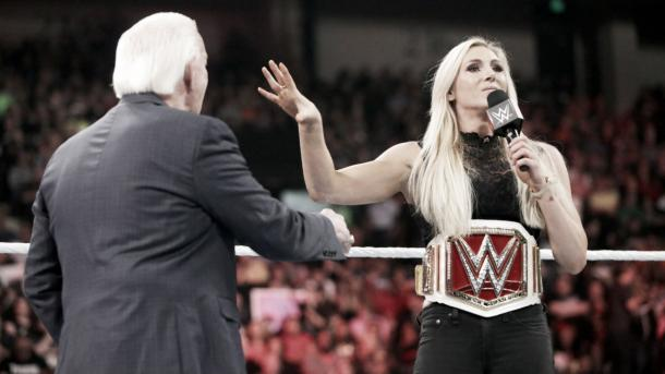 It will be just Charlotte and Dana Brooke going forward Photo: WWE.com