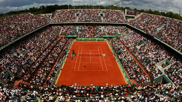 Court Philippe Chatrier. Photo: Getty Images