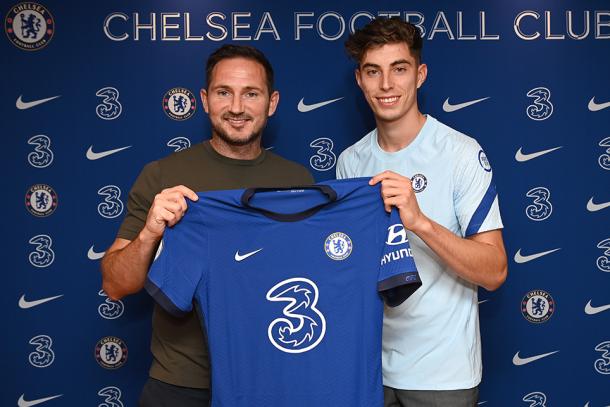 Havertz está destinado a liderar el proyecto de Lampard / FOTO: Chelsea FC