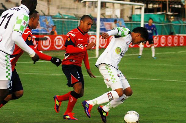 Empate a cero entre ambos equipos en el segundo semestre de 2011. Foto: El País de Cali