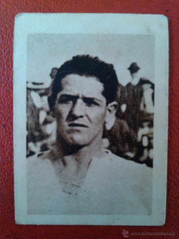 Manuel Gestoso 'Chicha' jugó en el Celta desde su fundación hasta 1929 (Foto: todocoleccion.net)