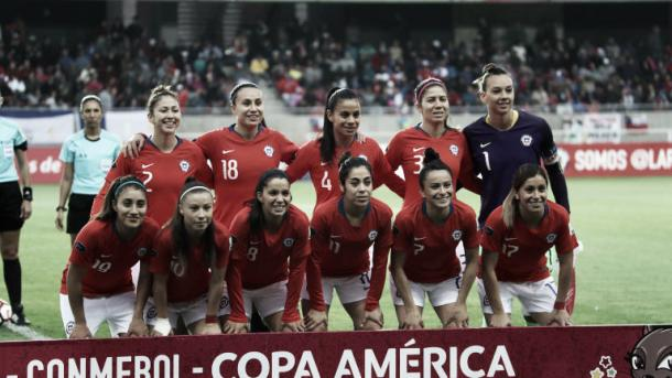 Chile will push for a strong showing before their first World Cup appearance next Summer. (Photo via fifa.com)