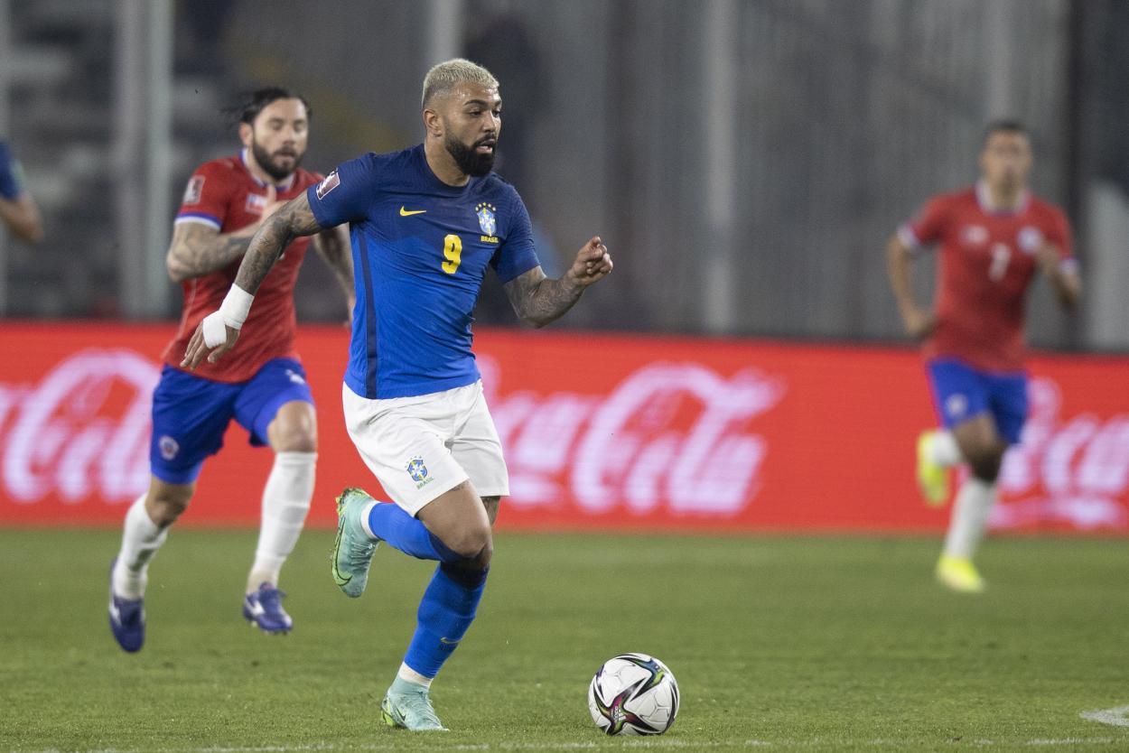 Chile vs Brasil, Clasificación Mundial de Catar 2022 // Fuente: Selección de Brasil