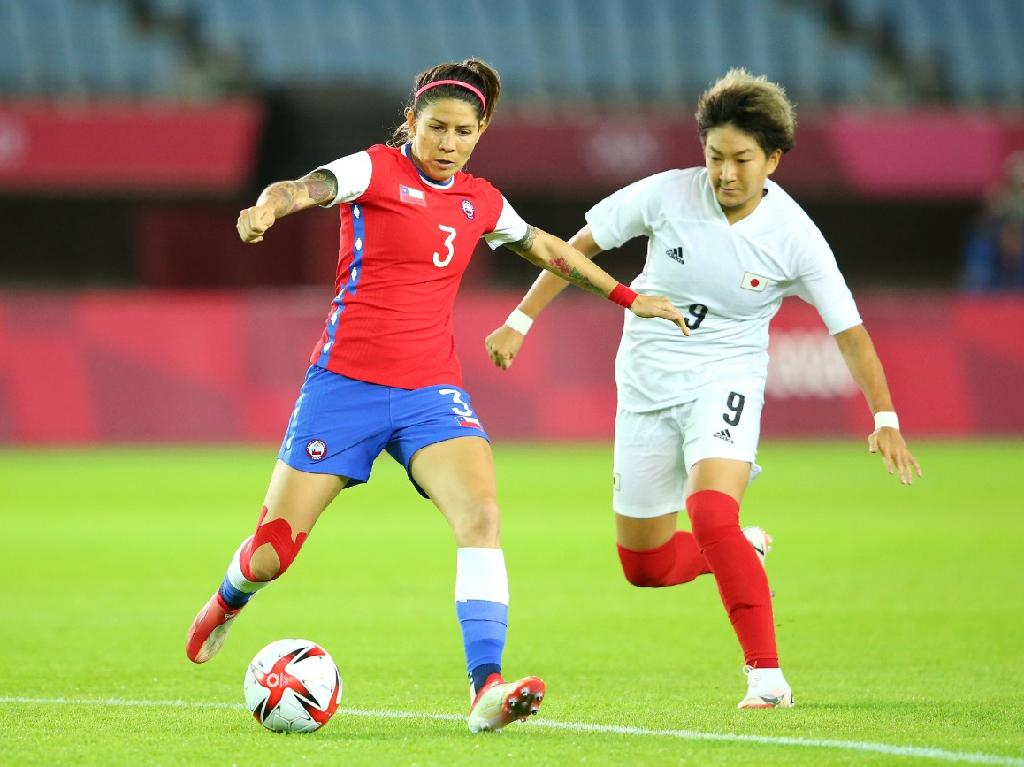 Chile vs Japan, Olympic Games // Source: Chile National Team