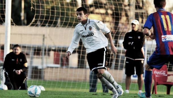 Chirivella comenzó su carrera en Paterna. Foto: VCF