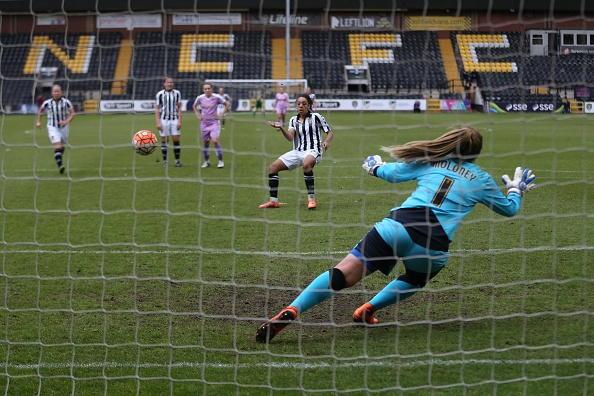 Both of Notts' wins have been at home by a one goal advantage (credit: Chris Brunskill/Getty)