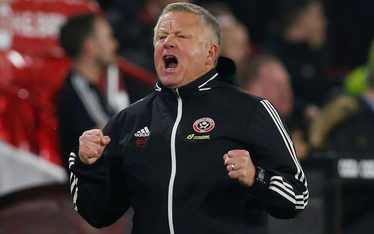 Chris Wilder, Sheffield United   Photo: Reuters