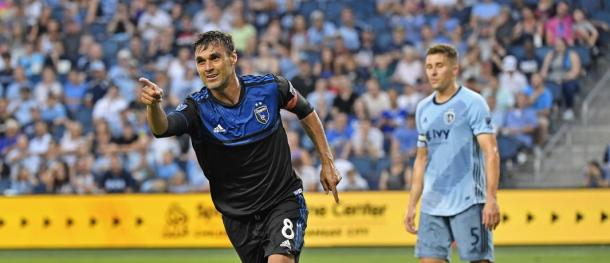 Chris Wondolowski has become a legend for the Earthquakes scoring an incredible 155 goals for the team. | Photo: USA Today Images