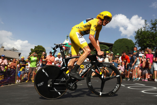 Froome a Megeve. Fonte foto: Getty Images Europe.