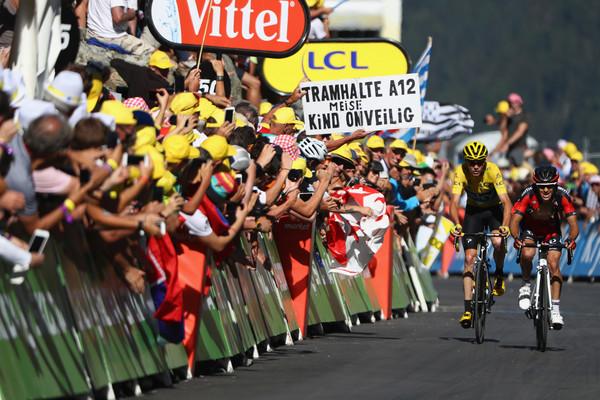 Froome e Porte nella tappa di ieri. Fonte foto: Getty Images Europe.