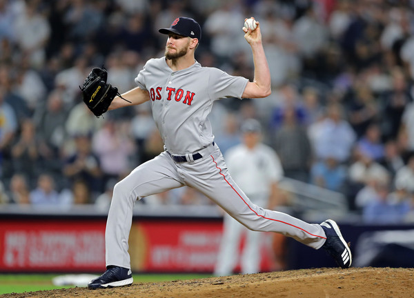 Sale will be making his first appearance in the World Series when he starts Game 1/Photo: Getty Images'