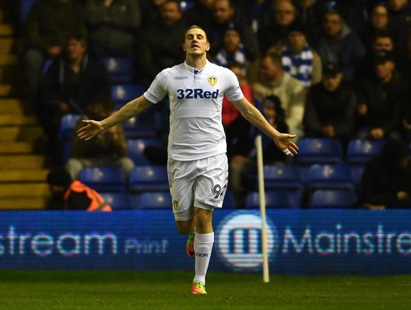 Wood celebra un gol con el Leeds. Foto: Zimbio