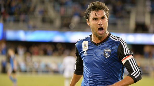 Chris Wondolowski will be hoping to rack up the goals against D.C. United on Saturday. Photo provided by ISI Photos.