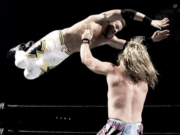 One of the most underrated matches in WrestleMania history. Photo- thelateralpress.blogspot.com