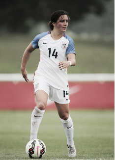 Christina Gibbons will represent the U-23 WNT at the Open Nordic Cup (Source: Getty - Matthew Ashton)