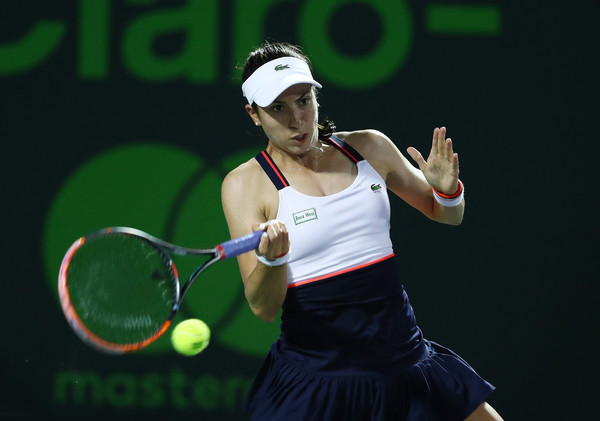 Christina McHale failed to serve out the match twice and also failed to convert a match point | Photo: Al Bello/Getty Images North America