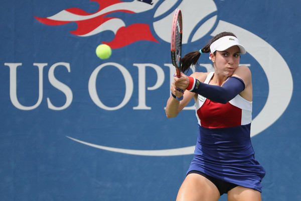 Christina McHale in action | Photo: Abbie Parr/Getty Images North America