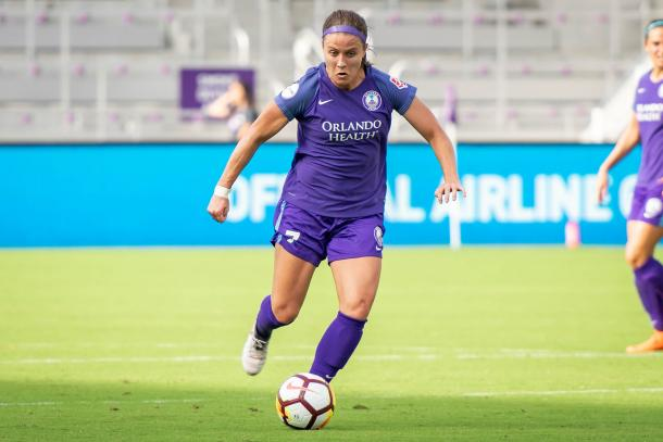 Christine Nairn in action for Orlando | Source: newdayreview.com