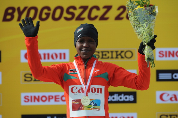 Faith Kipyegon is a former World Cross Country Champion (Getty/Christopher Lee)