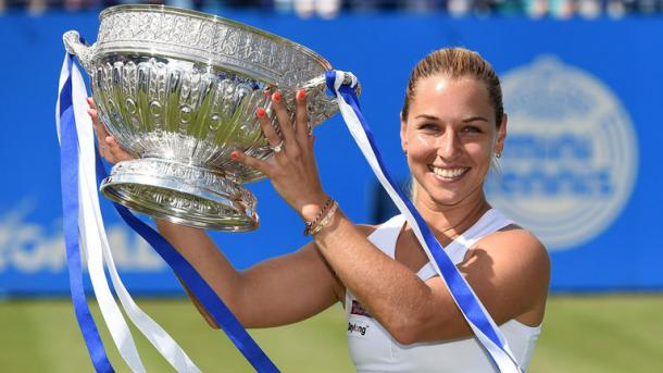 Cibulkova defeated Pliskova to win Eastbourne earlier this summer / Sky Sports