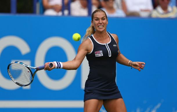 Cibulkova produced a stunning comeback to eat Radwanska yesterday / Live Tennis