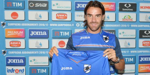 Luca Cigarini, sampdoria.it