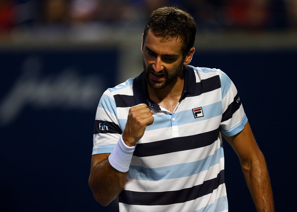 Marin Cilic dominated the opening set of the quarterfinal. Photo: Getty Images