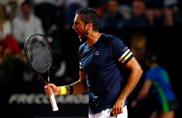 Marin Cilic had a career-best result at a big clay court event last week when he reached the semifinals in Rome. Photo: Julian Finney/Getty Images