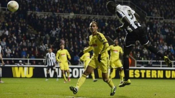 Cisse's goal - Anzhi sent Newcastle fans into raptures (bbc.co.uk)