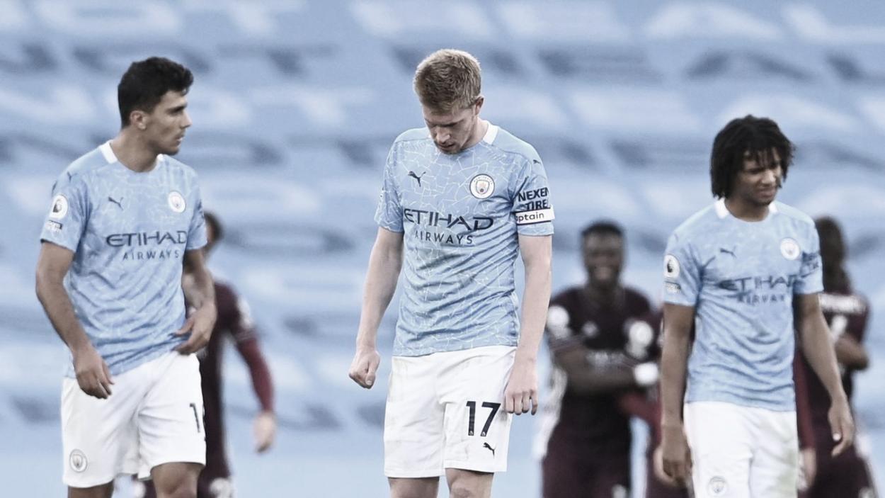 De Bruyne post goleada 5-2 vs Leicester. Foto: Premier League.