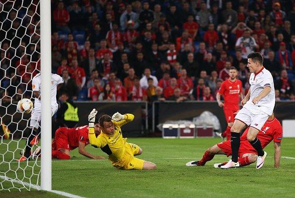 Gol de Gameiro | Foto: UEFA