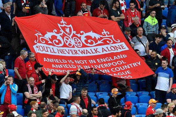 La afición del Liverpool ya esta preparada | Foto: LFC