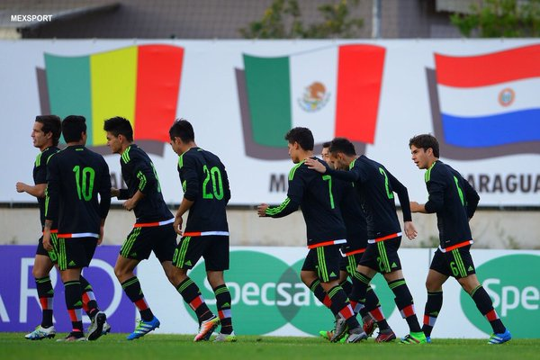Mexico's early goal meant little in the end. (Photo: Mexsport)