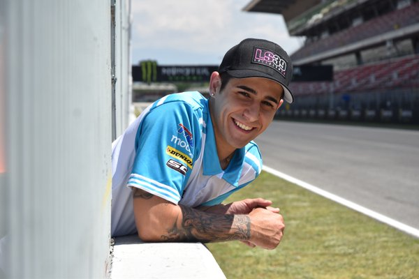 #39 SAG Team rider Luis Salom RIP. (Photo: Twitter)