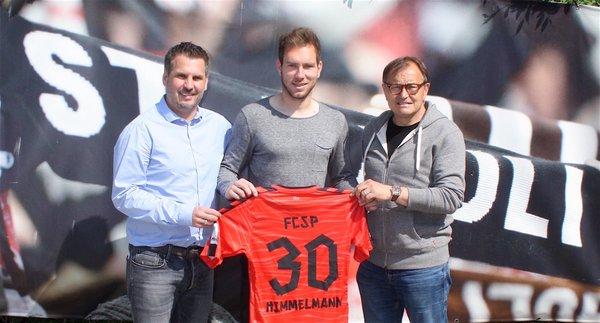 Himmelmann has extended his deal until 2019. (Photo: FC St. Pauli)