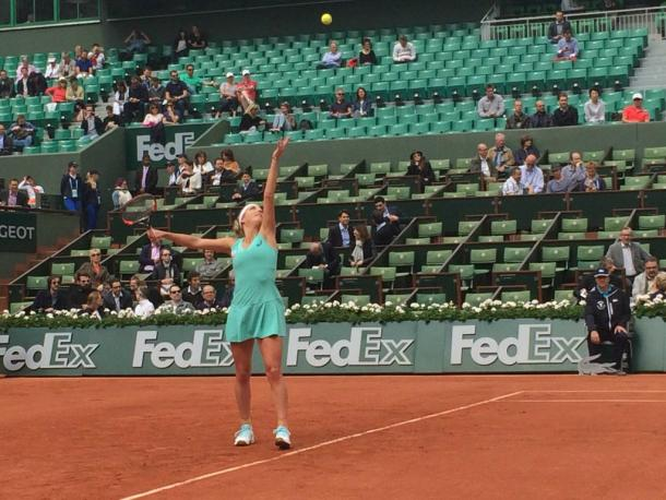 With draw opening up, reaching the semis isnt out of the question for Bacsinszky | Image Credit: Roland Garros