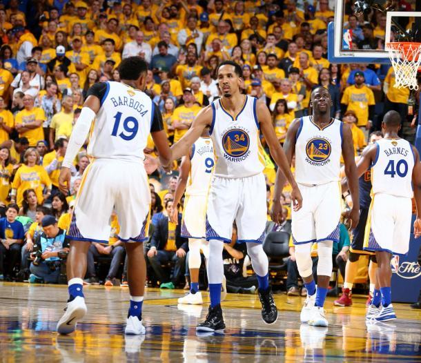 Shaun Livingston foi o cestinha dos Warriors no jogo (Foto: Divulgação/NBA)