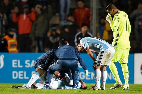 The injury against Honduras was not serious (Photo: Getty Images)