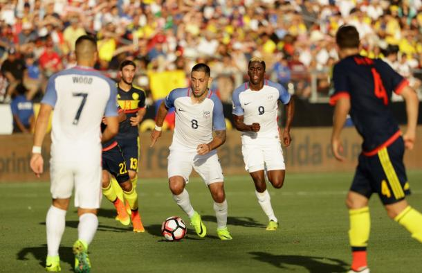 Clint Dempsey, uno dei pochi sufficienti di Team USA. (fonte immagine: NBC Sports)
