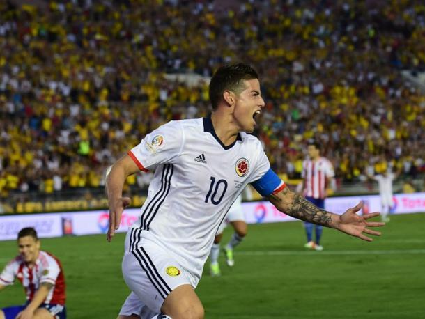 L'urlo del bandido. (Fonte Immagine: Goal Italia)