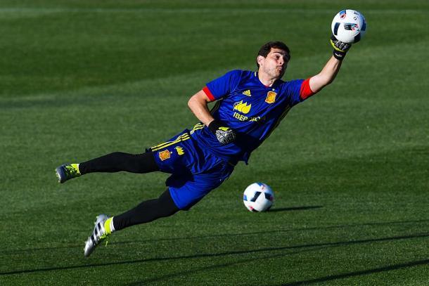 Iker Casillas. Fonte: Getty Images Europe.