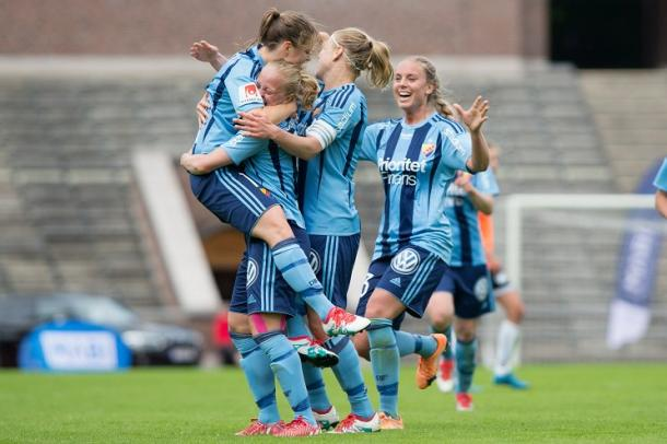 Djurgårdens will be hoping to keep up their terrific recent form at the weekend. (Photo: Djurgårdens IF)