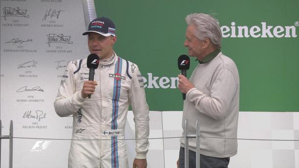 Valtteri Bottas consigue su primer podio del año | Fuente: @F1