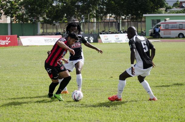 Robi Toral durante un partido con el Bauger | Foto: LDF Banco Popular