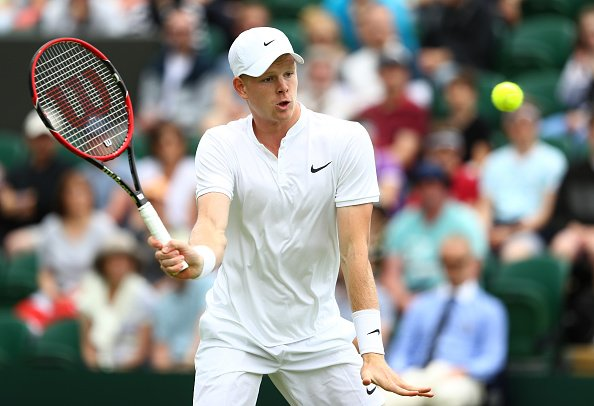Edmund just couldn't get going against Mannarino | Photo: Getty